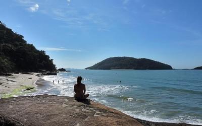 Acampando na Capital do surfe – Ubatuba