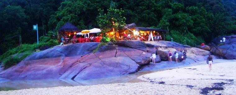 Quiosque Cantinho da Lagoa – Praia do Prumirim – Ubatuba SP