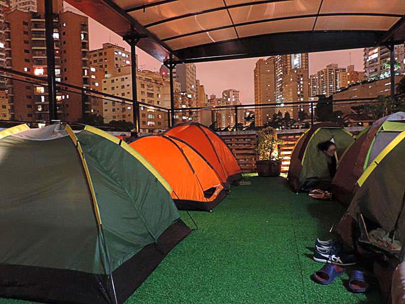 Acampando na Capital Paulista