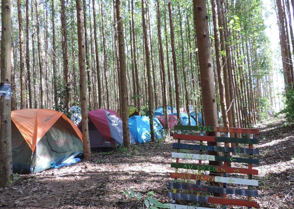 Acampando no Solaris Festival 2017 em Dourado (SP)
