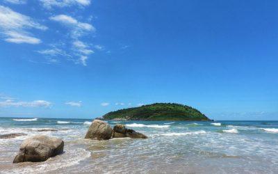 Acampando e curtindo as praias de SC