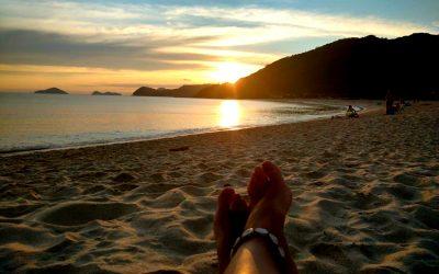 Acampando na paradisíaca Boiçucanga