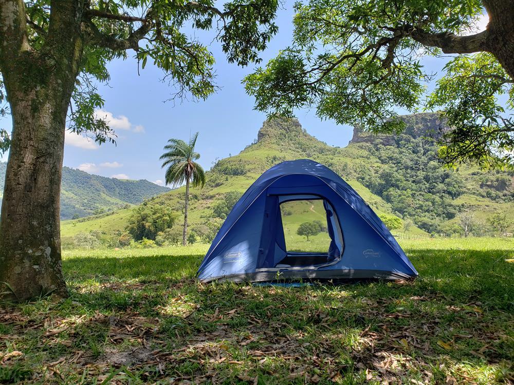 Acampamento selvagem em Botucatu SP - Por aí de Barraca