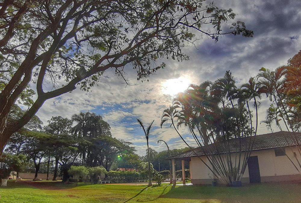 Acampando em Cesário Lange (SP)