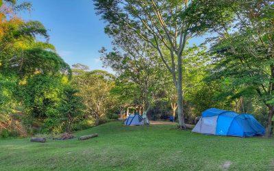 Tranquilidade e contato com a natureza no Camping Recanto do Passa 5 em Ipeúna SP
